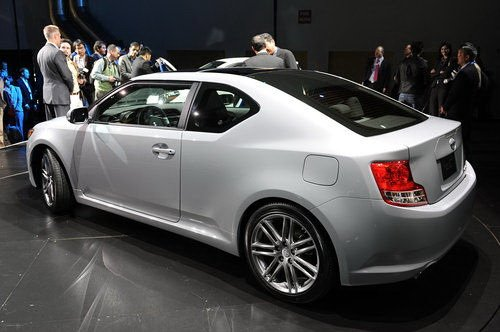 Much younger than the Toyota Camry Solara Coupe, the Scion tC will also be